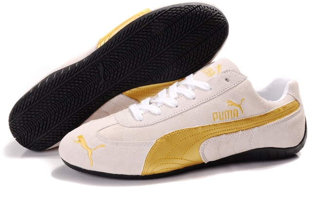 Puma Speed Cat SD Shoes Tan/Gold