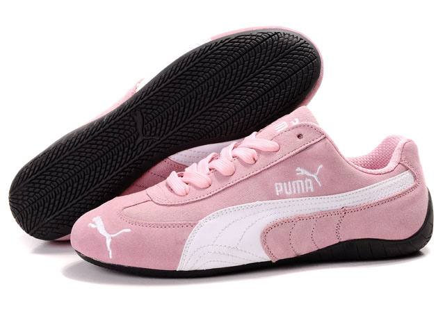 Women's Puma Speed Cat SD Shoes Pink/White