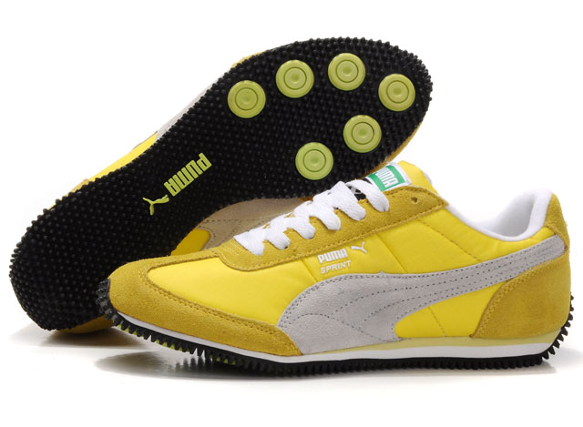 Puma Speeder RP Sneakers Yellow/White/Beige
