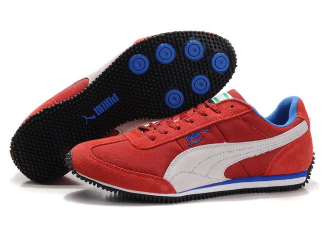 Puma Speeder RP Sneakers Red/Beige/Blue