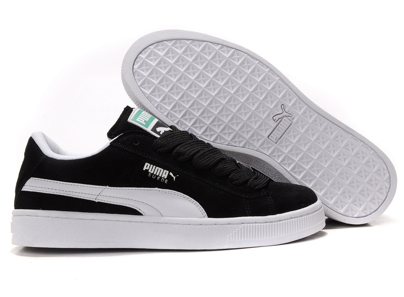 Puma Suede 2011 Black/White