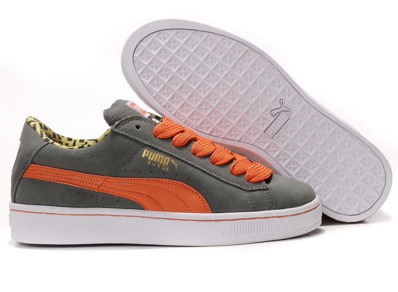 Puma Suede 2011 Grey/Orange