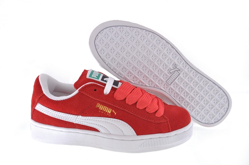 Puma Suede 2011 Red/White