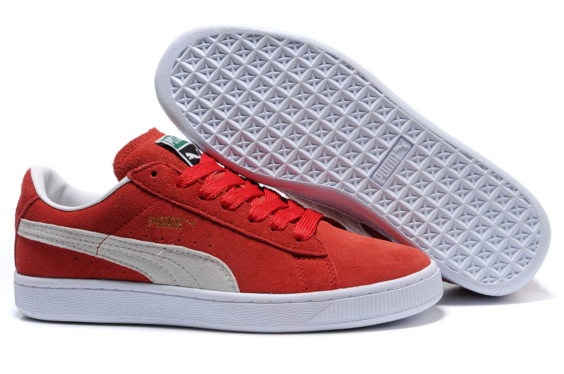 Puma Suede Archive Sneakers Red/Beige