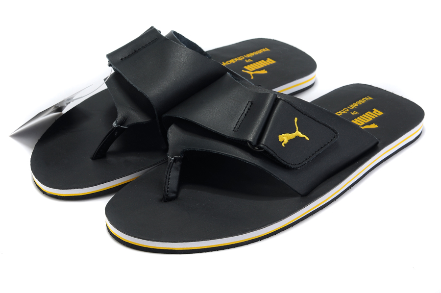 Puma Urban Mobility Sandal Black/Yellow