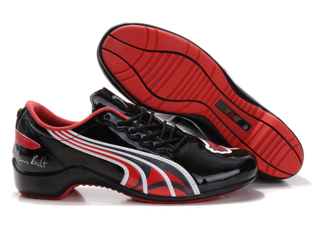 Puma Usain Bolt Shoes Black/Red
