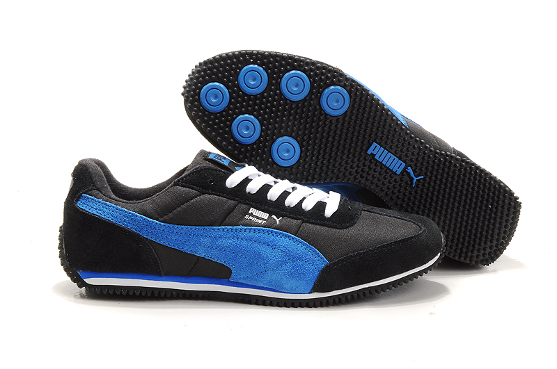 Men's Puma Vogue Usain Bolt Running Shoes Black/Blue