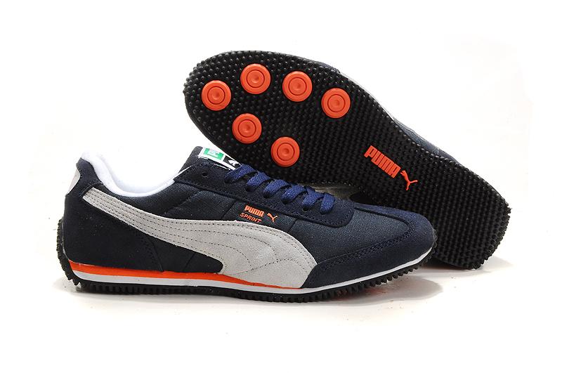 Puma Vogue Usain Bolt Running Shoes Black/Beige/Orange