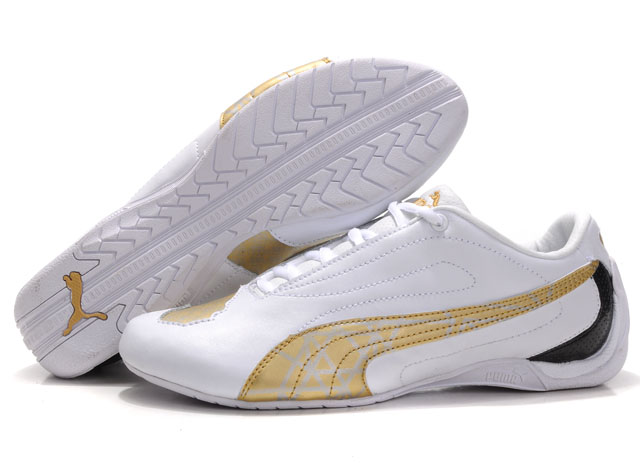 Puma Water Cube Shoes White/Gold/Grey