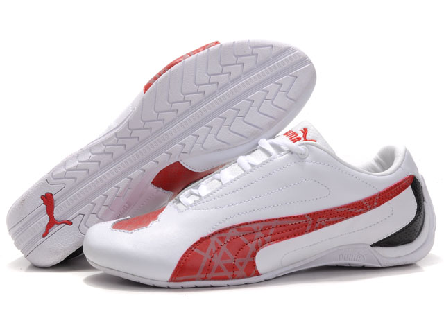 Puma Water Cube Shoes White/Red/Grey