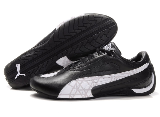 Men's Puma Water Cube Shoes Black/White/Grey
