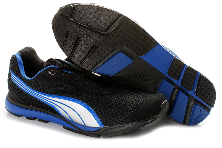 Puma YugoRun Mesh Shoes Black/Blue
