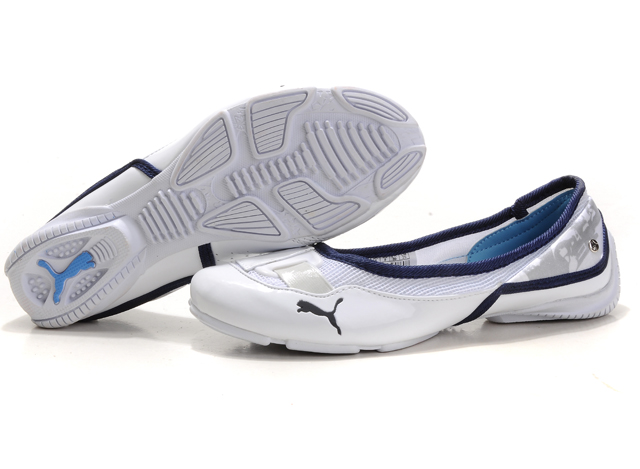 Puma Saba Ballet Young White/Navy