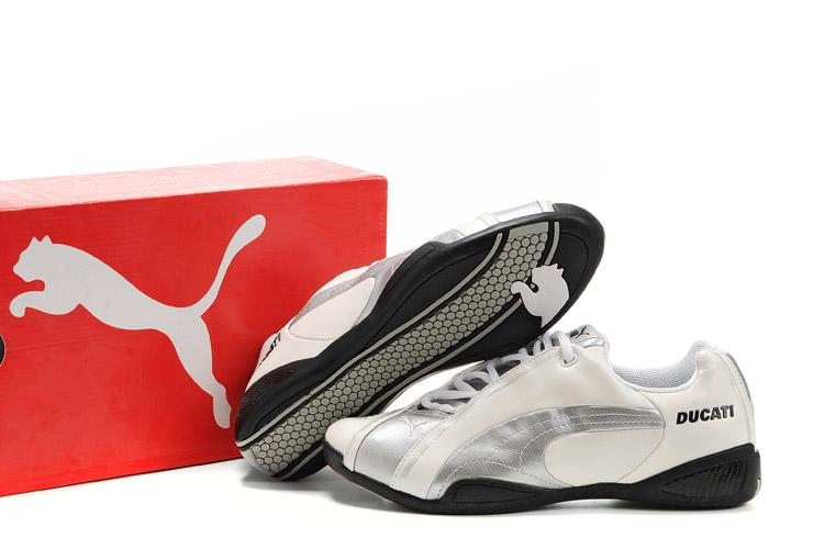 Puma Ducati Testastretta Shoes Black Red