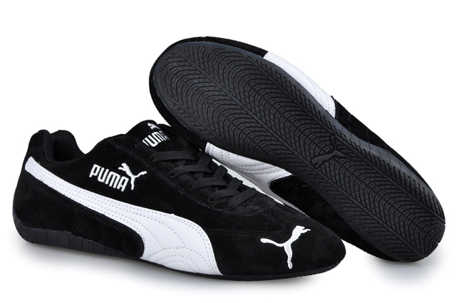 Puma Speed Cat SD Trainers Black/White 02