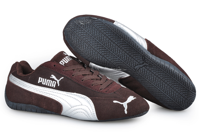 Women's Puma Speed Cat SD Trainers Brown/White