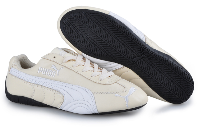 Women's Puma Speed Cat US Shoes Tan/White